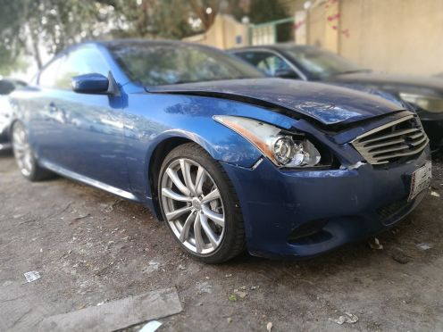 spare parts Infiniti g37s coupe