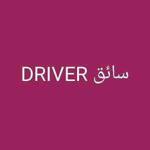 DRIVER OR HOUSE MAID