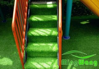grass carpet withfixing