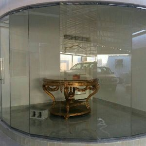 Glass partition and doors  work