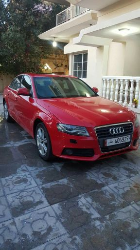 Audi A4 Red color full options