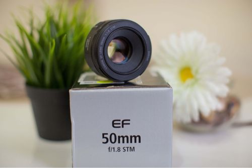 Canon 50mm 1.8 new