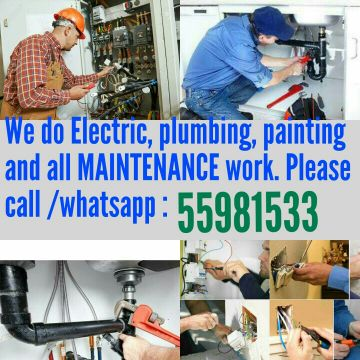 Electric & Plumbing service