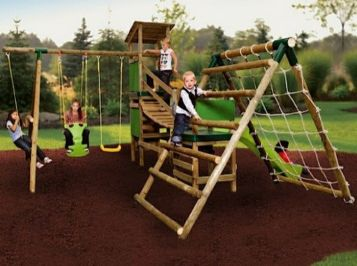 outdoor toys for gardens