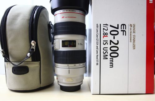 Canon70-200 2.8 IS