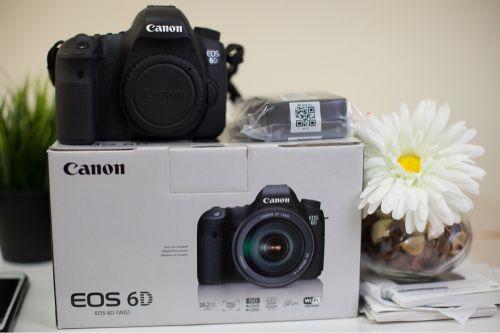 Canon 6d new like