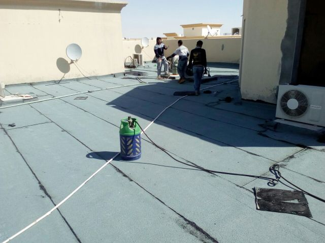 Treatment of water leakage
