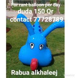 Balloon for rant per day