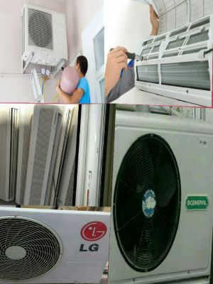 Air conditioner maintanance