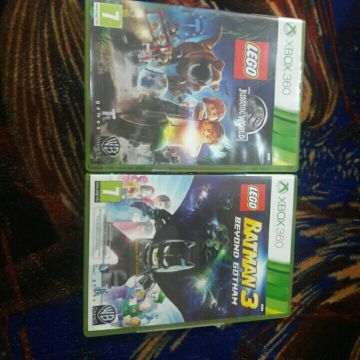 LEGO GAMES: JURASSIC WORLD AND BATMAN 3