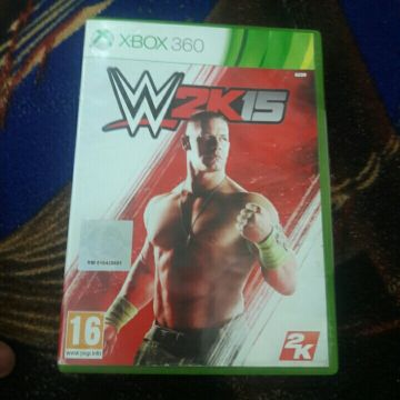 WRESTLING GAME:WWE 2015