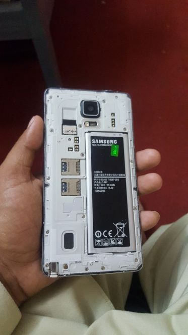 battery note 4