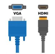 HDMI and VGA cables