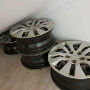 Honda Accord 2013 Steel Rims with covers
