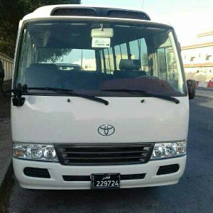 Toyota Bus for Rent