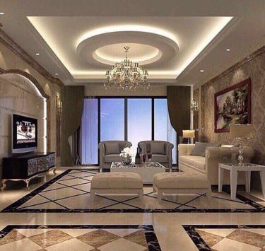 gypsum work full design and partition be
