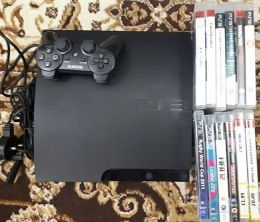 for sale ps3 120GB with 12 games