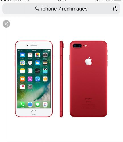 Iphone 7 Red Color