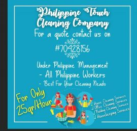 Philippine touch cleaning and hospitalit