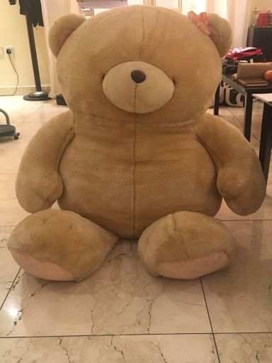 a massive teddy bear