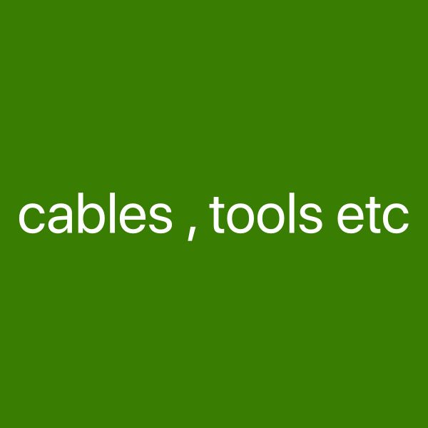 Cables tools Sale