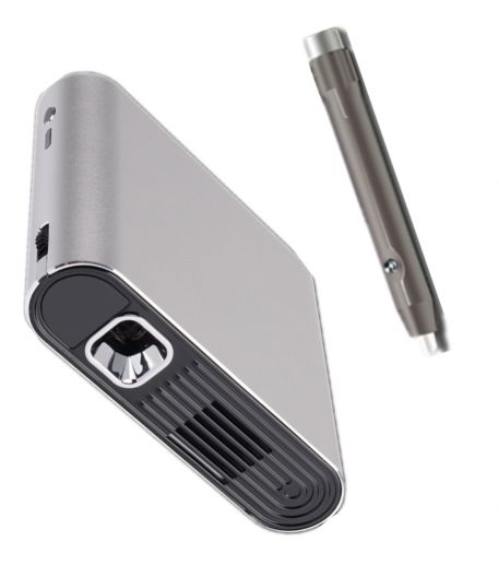 projector with smart wall pen