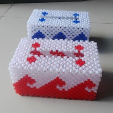 hand made tissue box