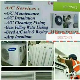 I do any A.C. work sale sarvic and fix c