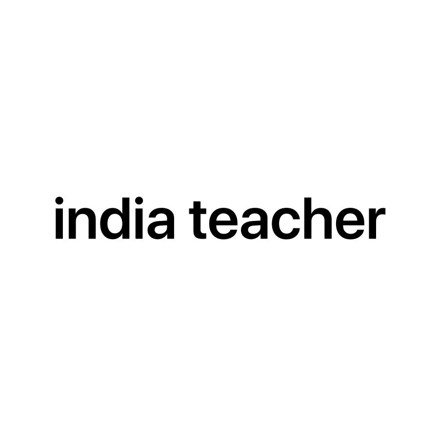 Lady india teacher
