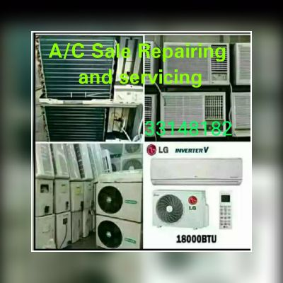 A/C Sale Refairing and Servicing