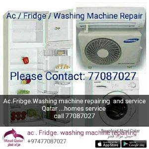 ac .fridge. washing machine repairing