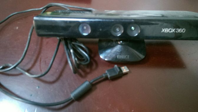 xbox 360 kinect with control