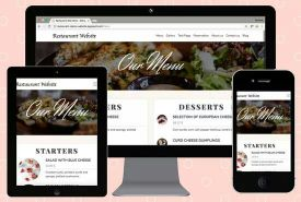 Build beautiful dynamic restaurant webs