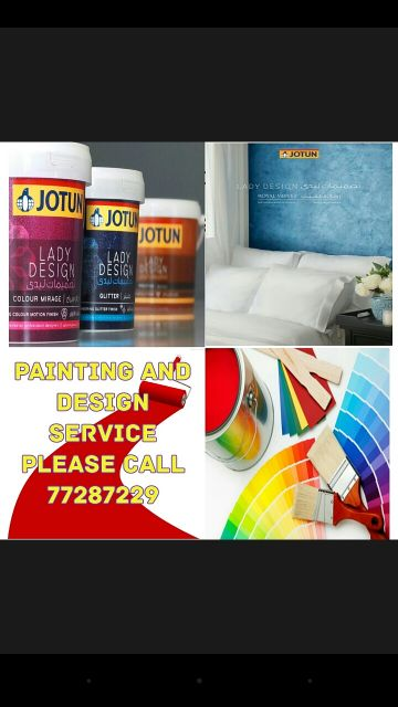 painting work please call 77287229