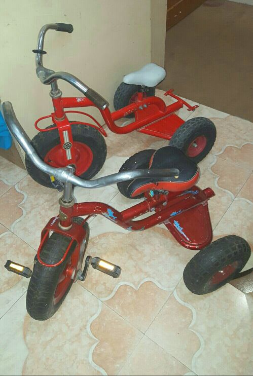 3 kids cycle
