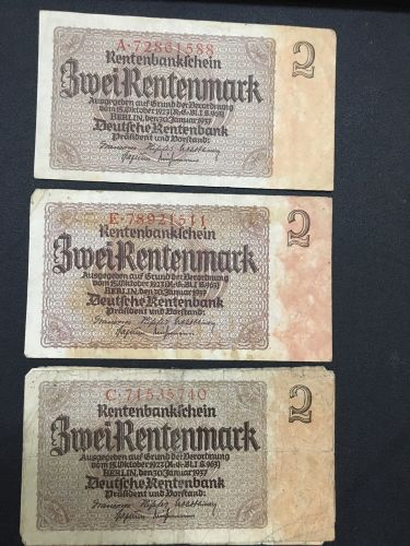 German 2 Mark 1937