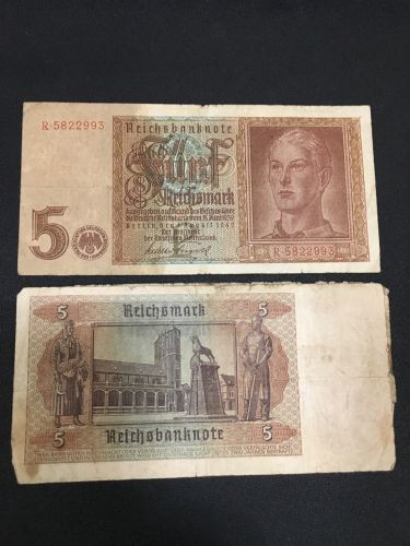 5 Mark Germany1942