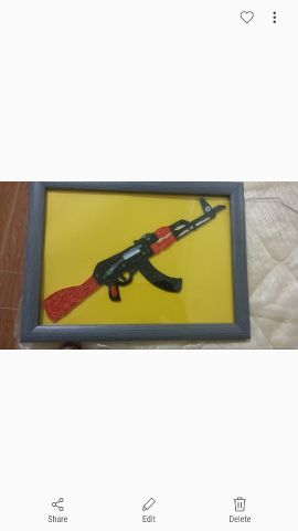Home Make Ak47 with frame