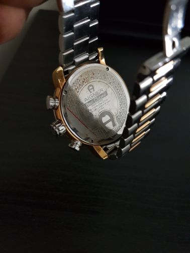 Aigner watch as new