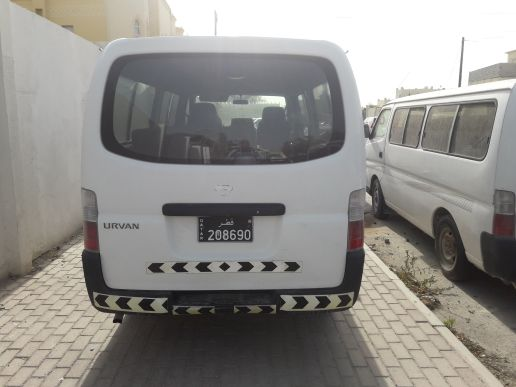 NISSAN URVAN  VAN. 15 seater. for rent.