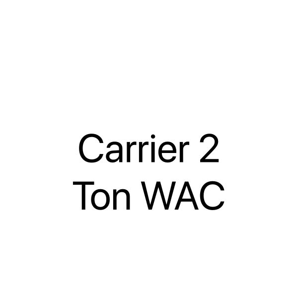 2 Ton Carrier wind