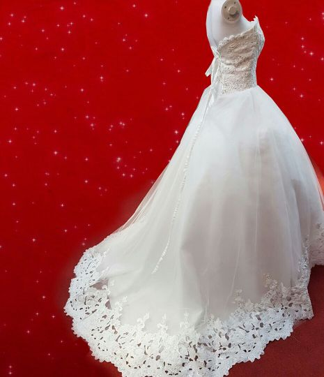 Wedding Dress for Sale . Please  c