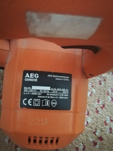 Air blower AEG