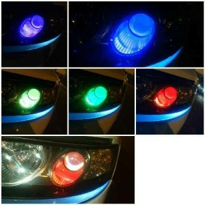 led light changing colours