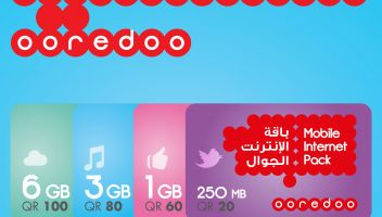 Ooredoo 3GB Data