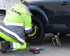 Tyre puncture(service)
