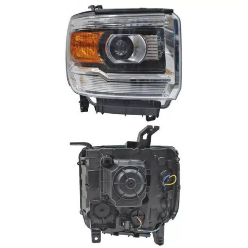 GMC Sierra RIGHT head lamp
