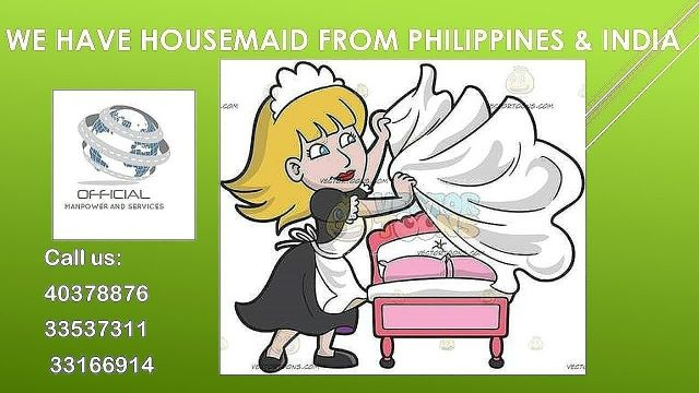Housemaid from Philippines-2 years