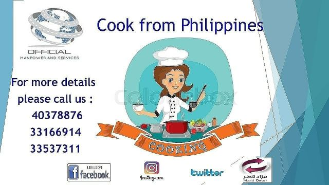 Cook from Philippines-2 years