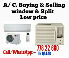 we sale good used ac